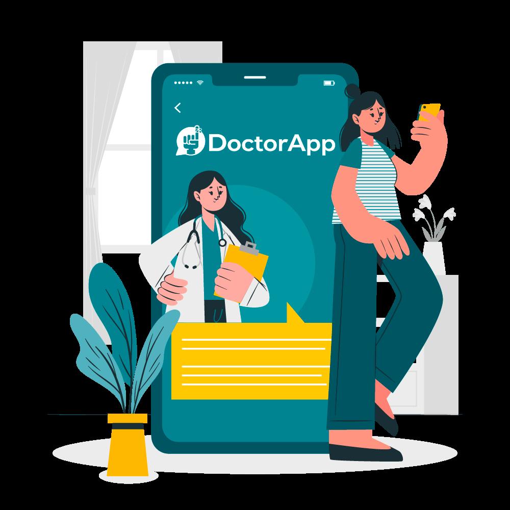 Illustrazione App paziente